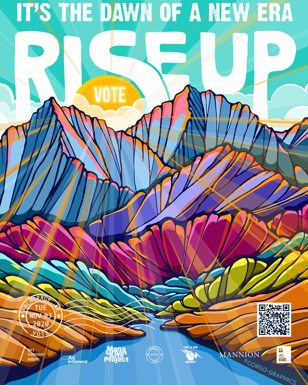 Alaska (Anchorage) Poster