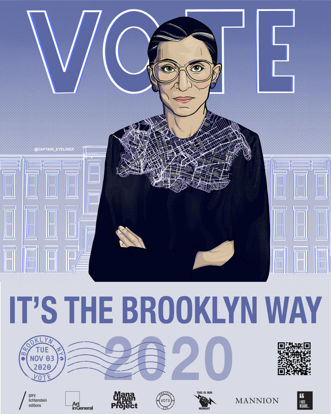 New York (Brooklyn) Poster